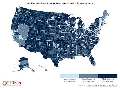 Mental Health Provider Shortage Areas