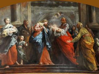 Simeon and Anna Encounter Jesus