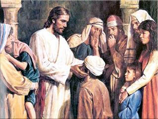 Jesus Performs an Unusual Healing