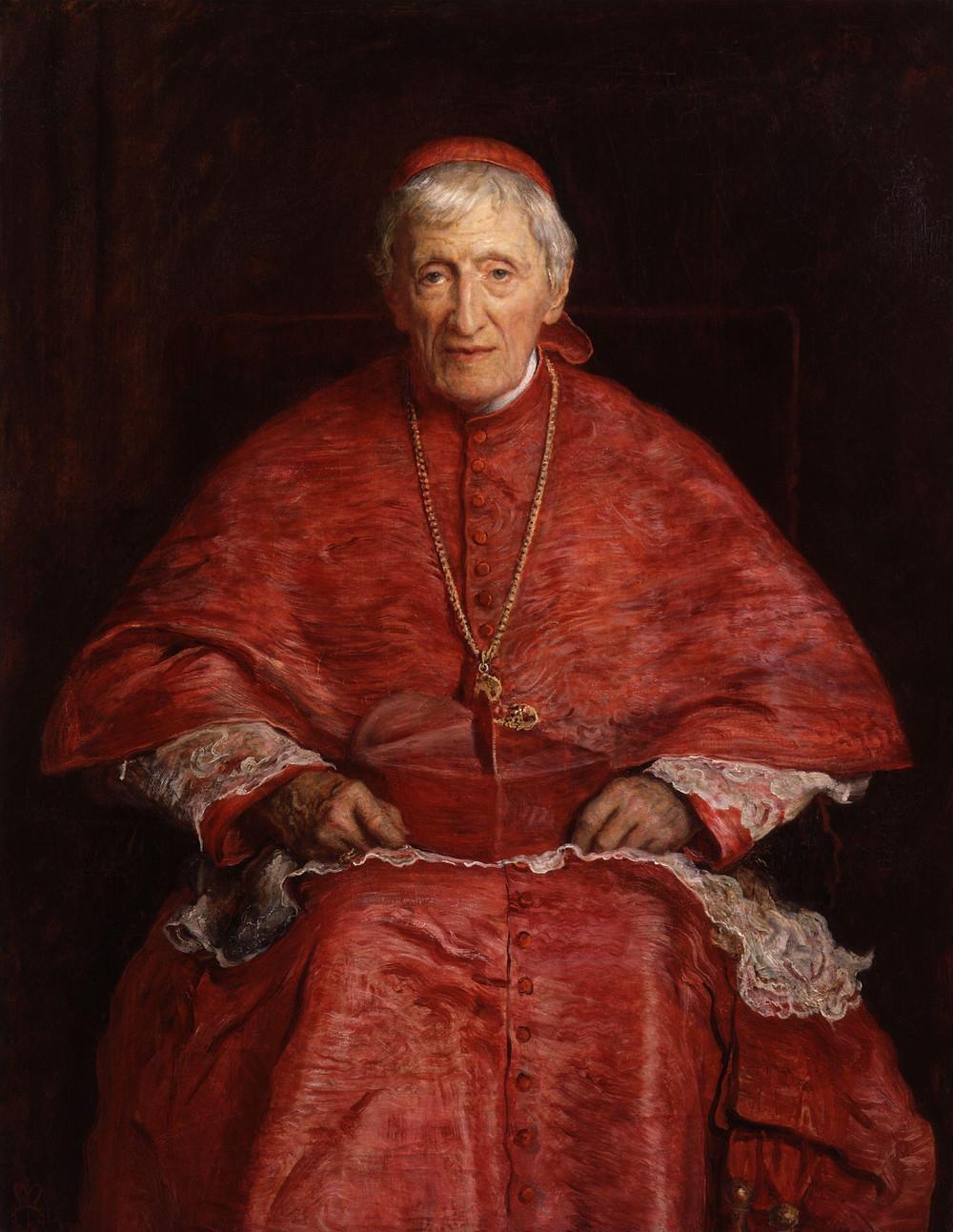 John Henry Newman by Sir John Everett Millais (Wikipedia)