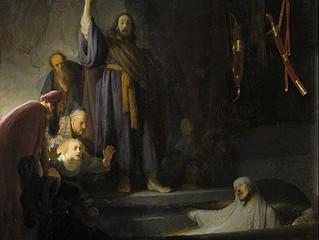 Jesus Deliberately Waits Two Days