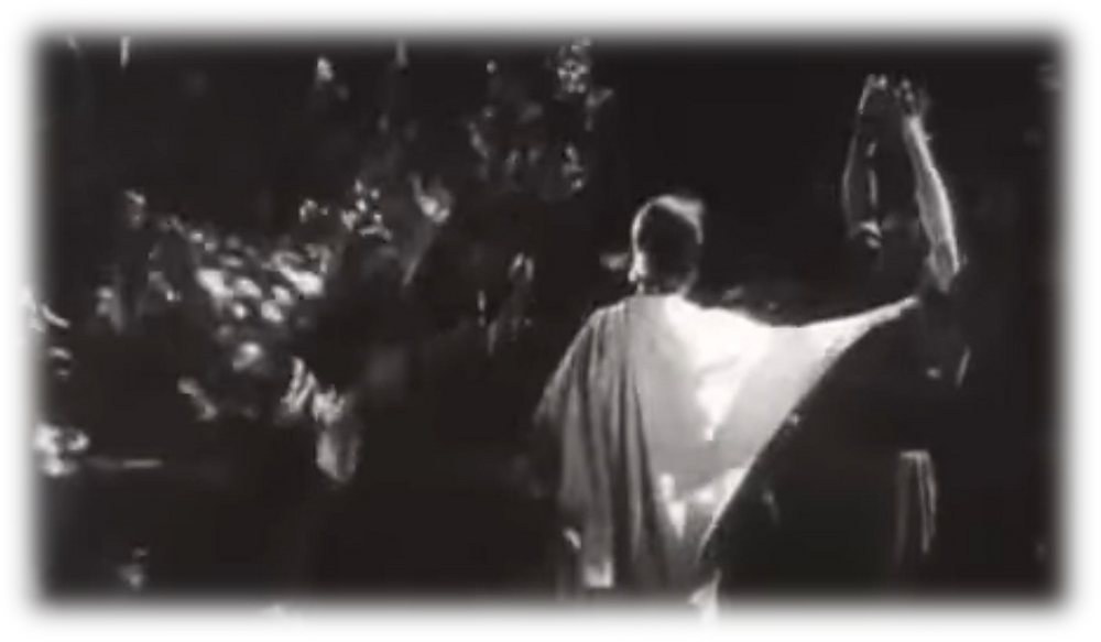 """""""The King of Kings"""" - Cecil B. DeMille, Public domain, via Wikimedia Commons"""