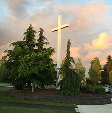 Cross by by Father Gary Zerr