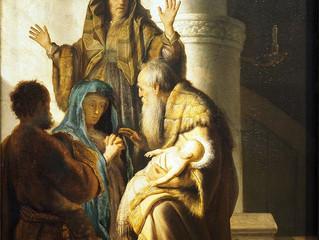 Anna and Simeon Encounter Jesus
