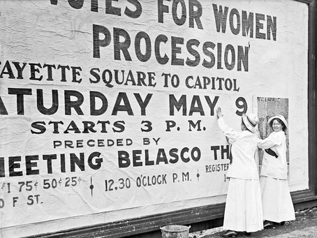 Peaceful Protest That Made a Difference in History: Women's Suffrage Parade of 1913