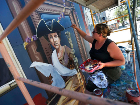 """West End Biz Announces """"Mural to celebrate voting rights for women"""""""