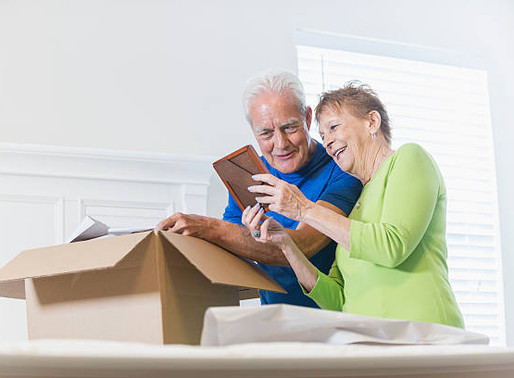 Downsizing – moving to a retirement home