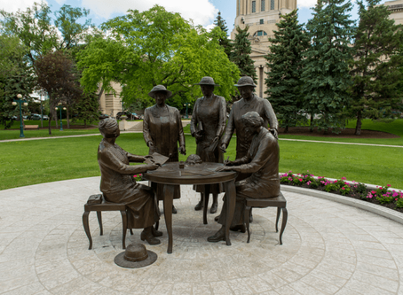 The Famous Five Monument: Celebrating 8 years!
