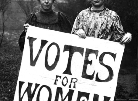 100 Years Ago Canadian women won the Right to Vote in federal elections