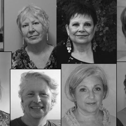 Founding Board of Directors of Women's Health Clinic – Ellen Kruger, Dr. C. Yuen, Kathryn Edmunds, Linda Taylor, Niki Garson, Paula Gardner, Paula Harris, and Robert Janz