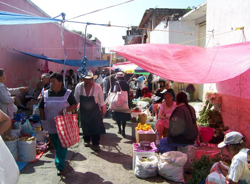 Nombre:  Plaza  Autor:  Mauricio Ramsés   Hernández Lucas  Lugar:  Ozumba  Matrícula de Catálogo:  izoz-008  Clasificación:  Etnográfica  Fecha:  21/10/20