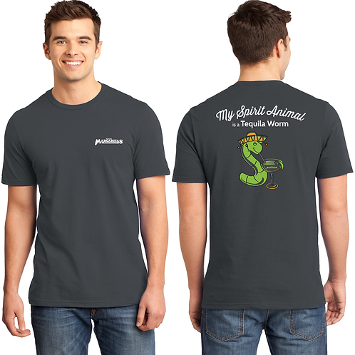 Men's Tequila Worm T-Shirt