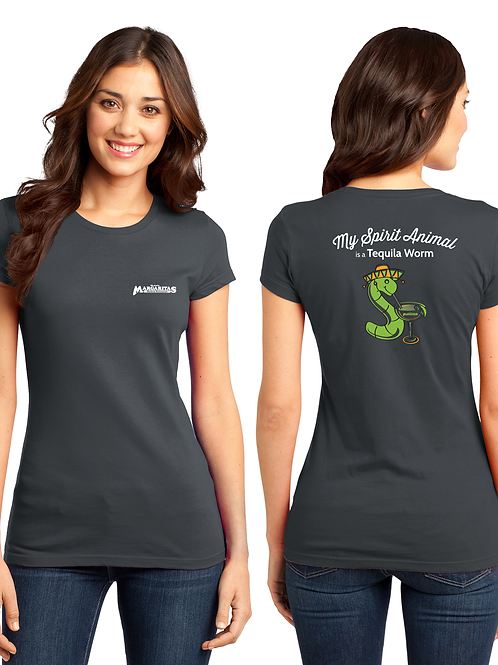 Women's Tequila Worm T-Shirt