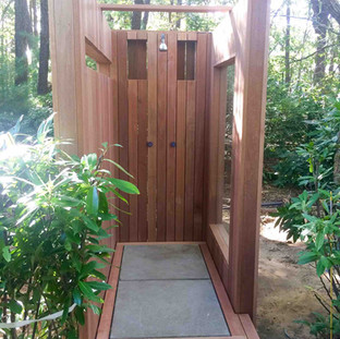 Outdoor Shower by Arch Group