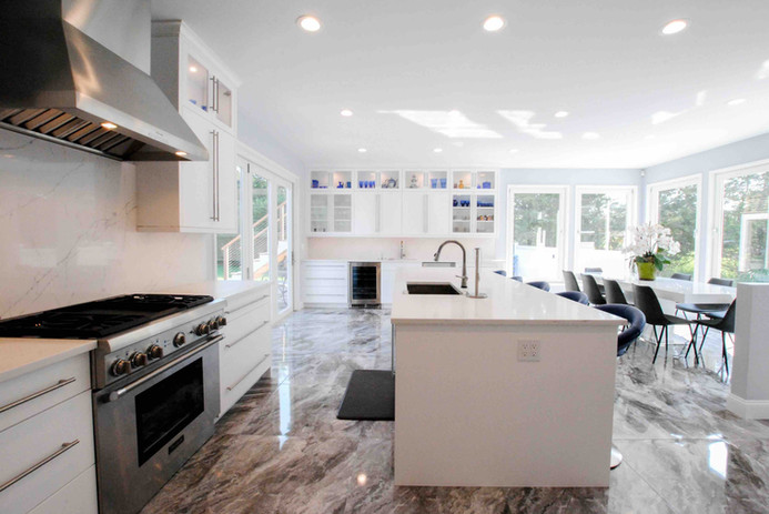 Beautiful White Kitchen by Arch Group