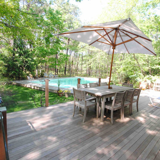 Invisirail Mahogany Deck by Arch Group