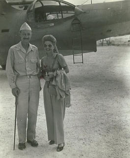 General Boyd and Frances Langford