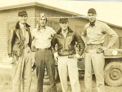 Bob Marshall, Joe Shelton, Skeets Coleman and Simon Webb