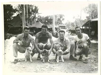 Corbett (Toby), Knowles (Toro), Elmes (Mike), Acker ( Saki)