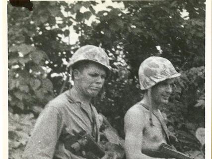 Harold Clemetsen and Cy Dolezel