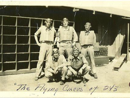 First Lts.- Section Leaders VMSB-243 Ewa, Oahu, Feb. 1943