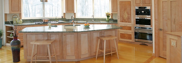 luxury kitchen white painted cabinets with white oak island
