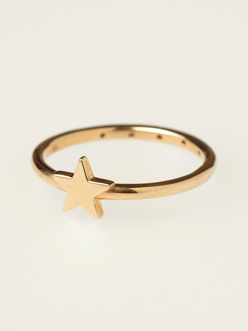 TWO MINI STAR RING