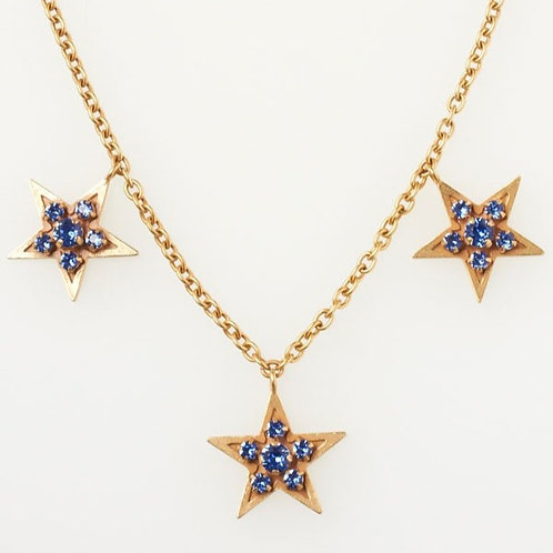 THREE STARS NECKLACE