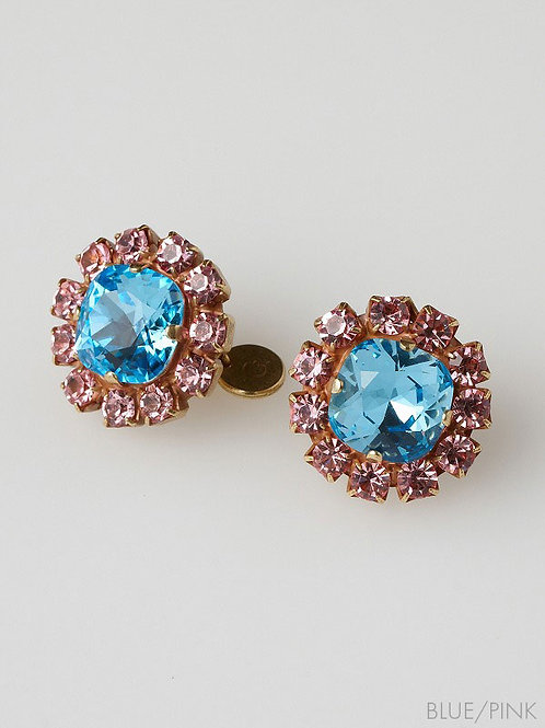 ROUND PIERCED EARRINGS
