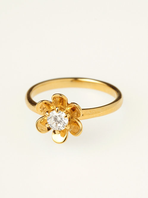 ETERNAL FLOWER RING K18YG