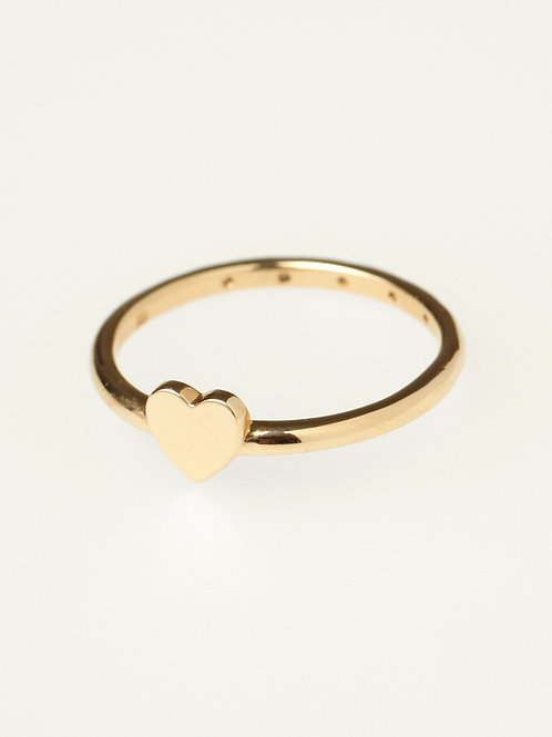 TWO MINI HEART RING