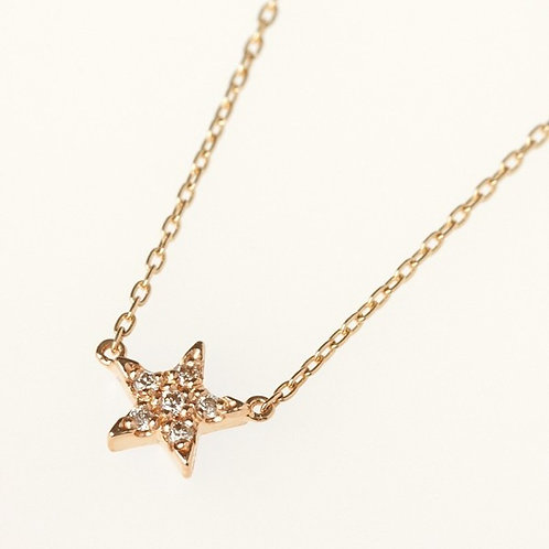 TWO MINI STAR NECKLACE