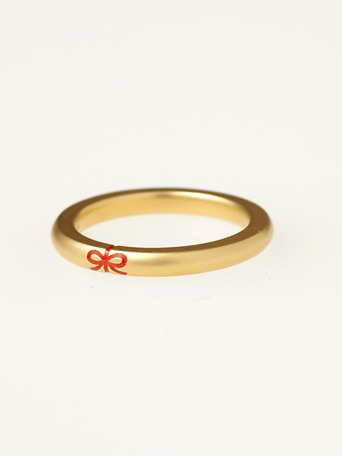 RIBBON MARRIAGE RING K18YG