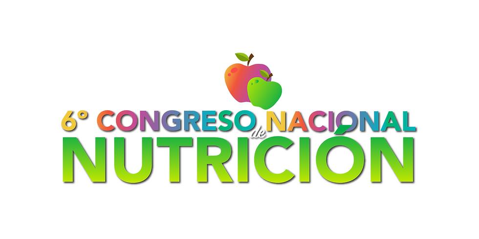 6º Congreso Nacional de Nutrición
