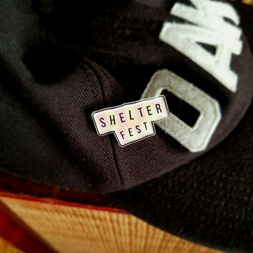 ShelterFest Pin