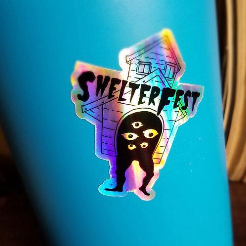 ShelterFest Sticker