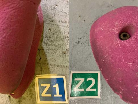 赤&紫ホールド、セットチェンジ完了!