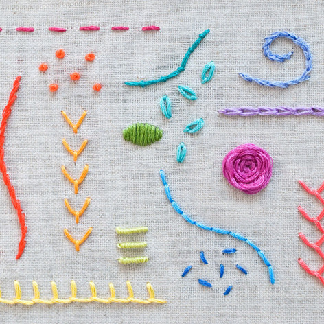 Embroidery Make Kit