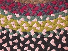 large-old-braided-rug-handmade-vintage-rag-rug-made-of-wool-poly-fabric-Laurel-Leaf-Farm-i