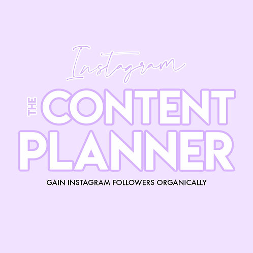 Instagrowth Content Planner