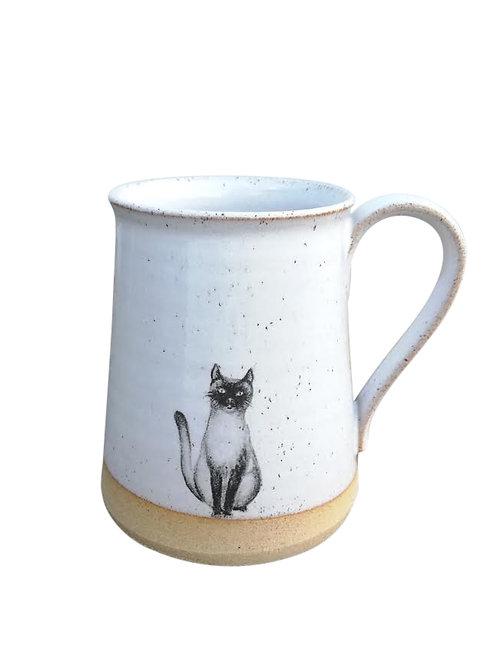 Cat Tankard Shaped Mug