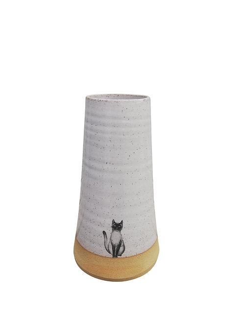 Cat Vase