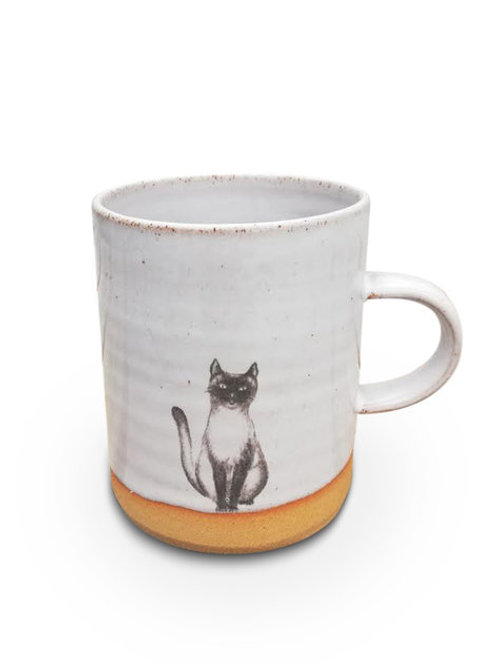 Cat straight mug