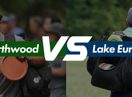 Northwood vs Lake Eureka. What was Paul throwing?