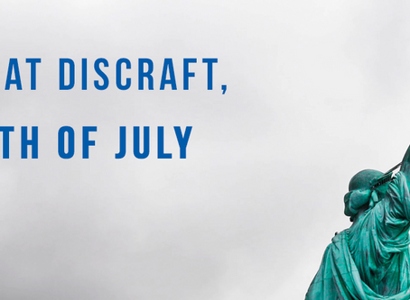 Happy 4th of July, from Discraft