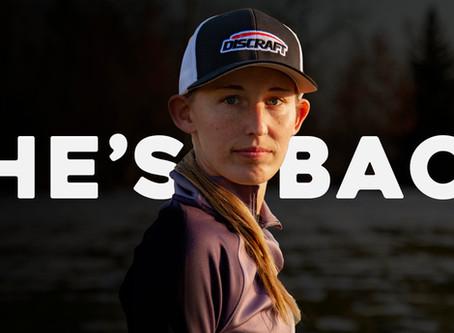 She's Back.