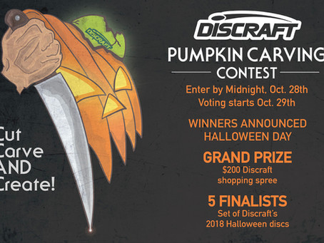 DISCarving Contest 2018