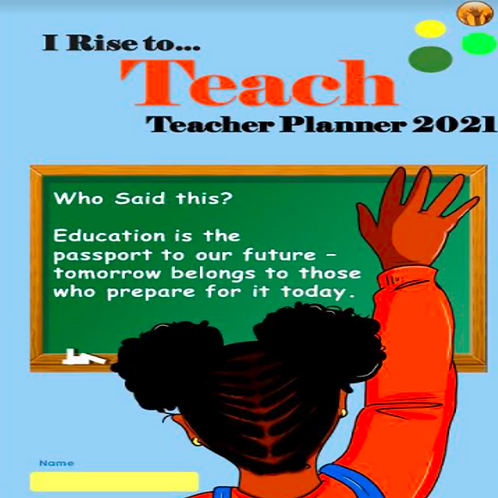 NEW!!!    2021 Teacher Planner