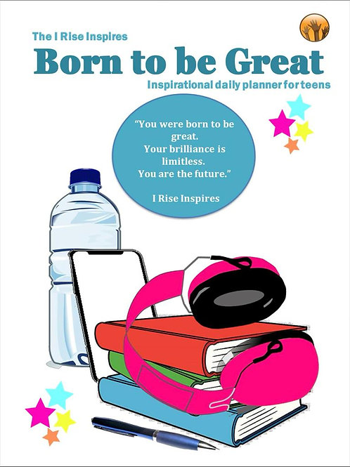 New!!! Born to Be Great Student Planner
