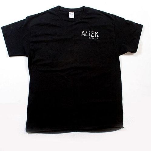 Alien Tequila Black Tee Shirt